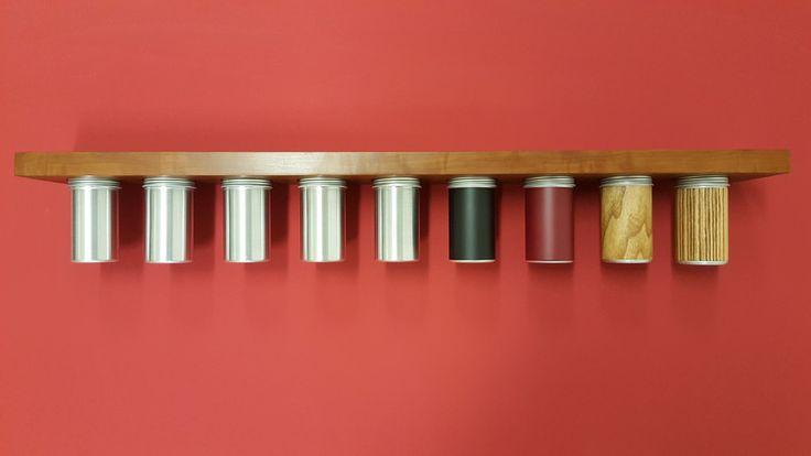 """Gewürzregale - Großes Magnet - Gewürzboard """"above & beneat... - ein Designerstück von MAGNOLIA_INTERIOR bei DaWanda"""