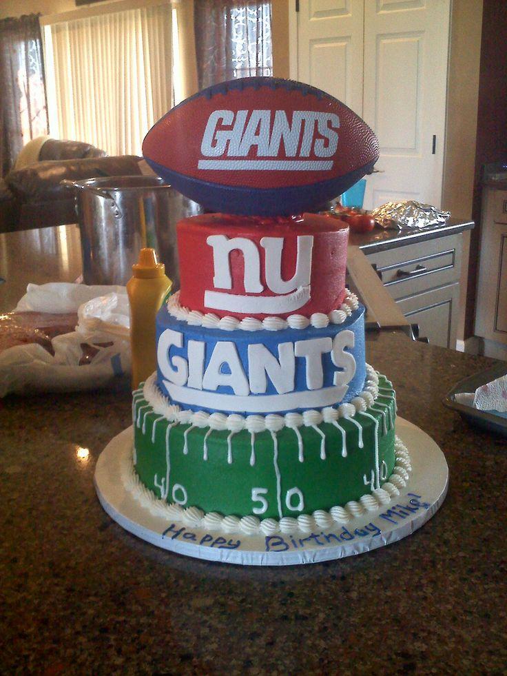 https://flic.kr/p/9FNq8u | NY Giants Cake