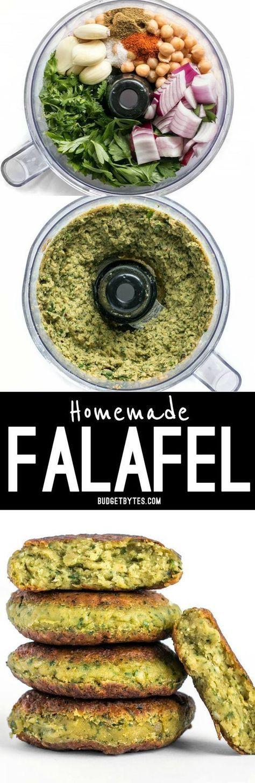 Easy Homemade Falafel