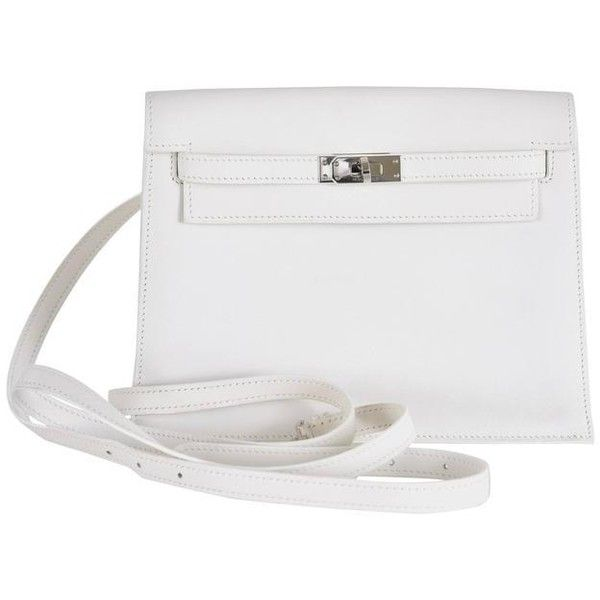 Preowned Hermes Kelly Danse White Super Rare Wear It 7 Ways ...