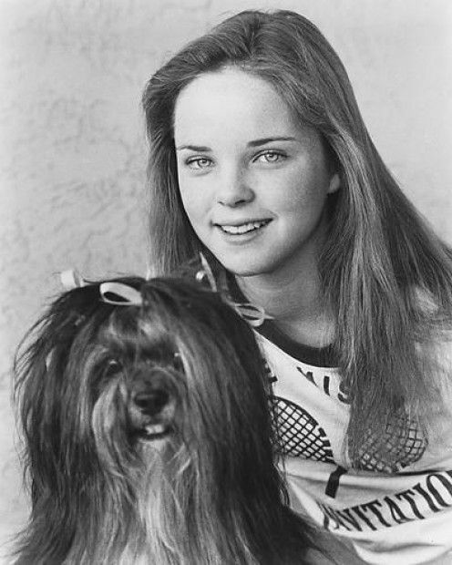 Melissa Sue Anderson and friend