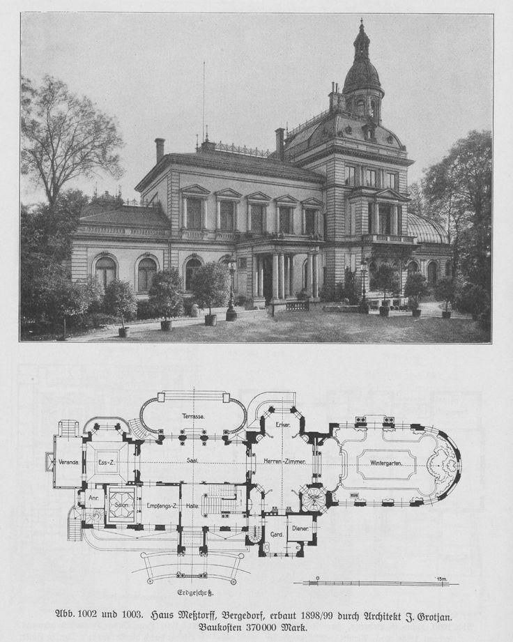 Grundriss villa  Die besten 25+ Klassische architektur Ideen auf Pinterest ...