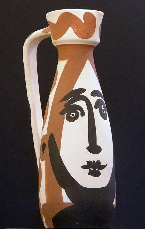 "Pablo Picasso - ""Face"". 1955                                                                                                                                                                                 More"