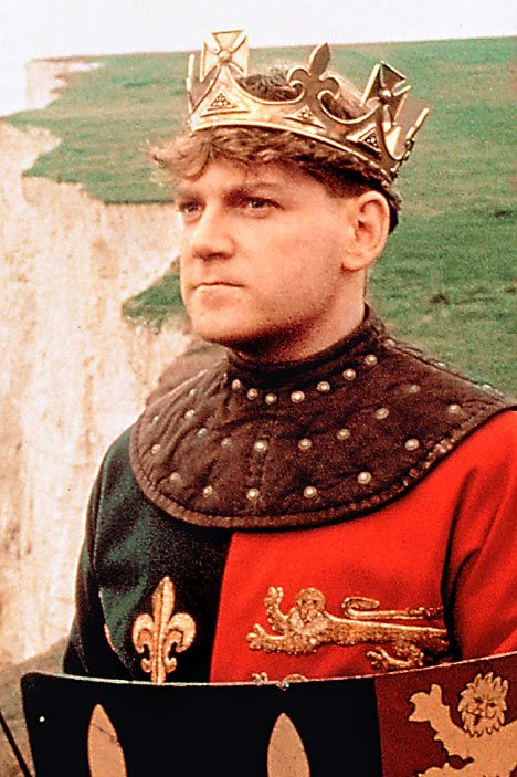 I was 14.  It was a snow day.  I fell madly in love with His Beefiness, Henry V (Kenneth Branagh).