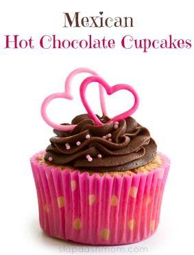 Mexican Hot Chocolate Cupcake Recipe