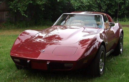 1975 Corvette Stingray | 1975 Corvette Stingray - Maroon with tan leather interior