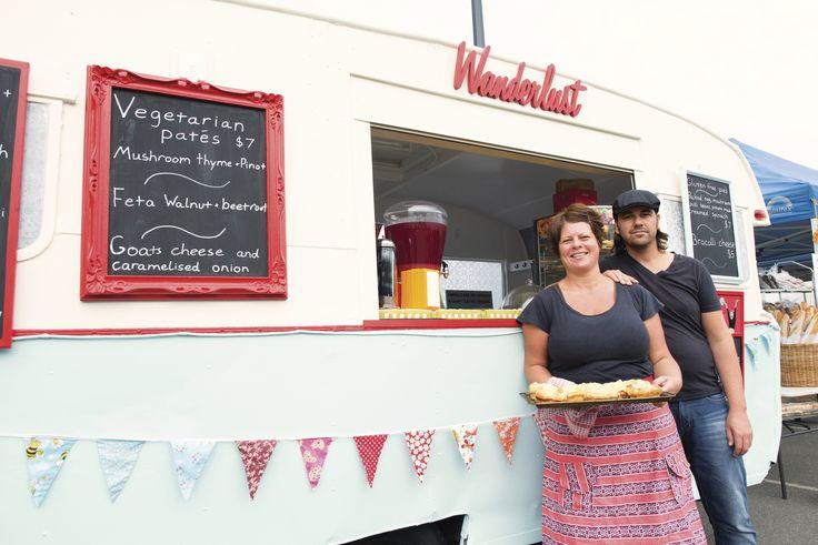 Wanderlust Van at Harvest Farmers' Community Market, Launceston