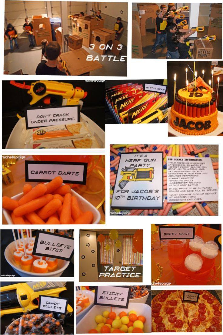 Nerf Birthday Party!~*