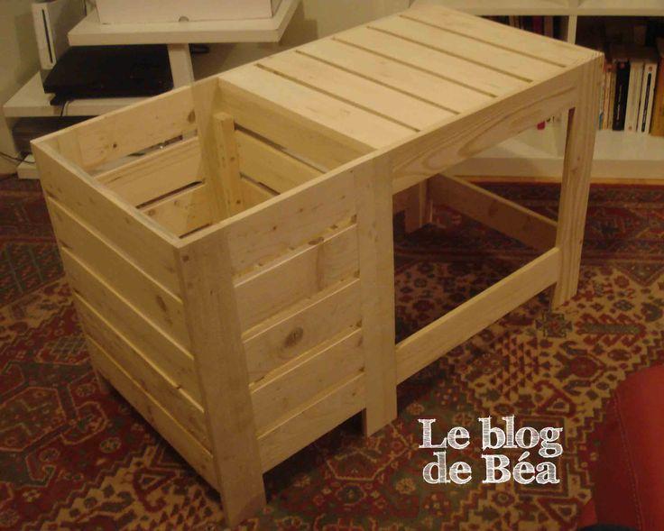 Table Basse Bar En Cours De Fabrication