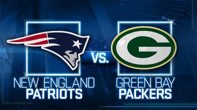 New England Patrots– Green Bay Packers streaming live NFL