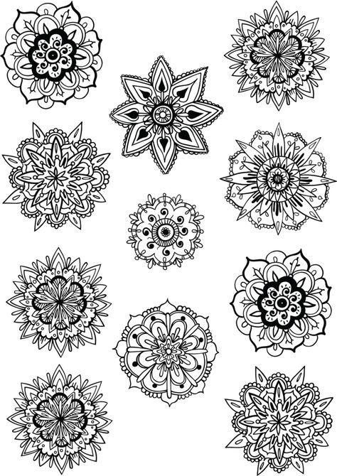 Free colouring pages for adults to help you relax | Mandalas ...