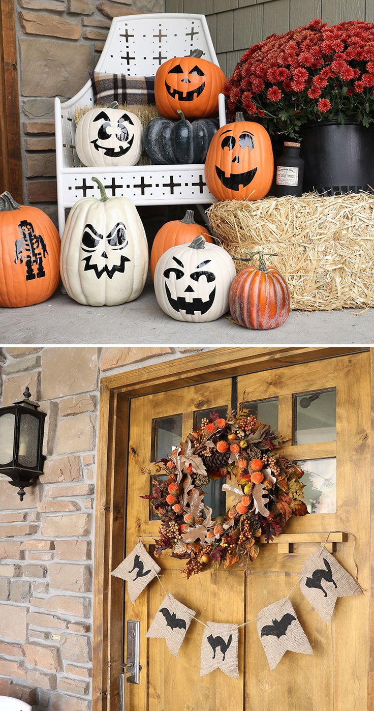 fall porch decorations decor pumpkins