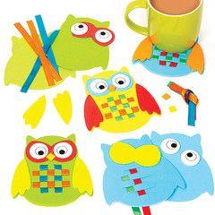 Owl Weaving Coaster Kit | Ellie Crate