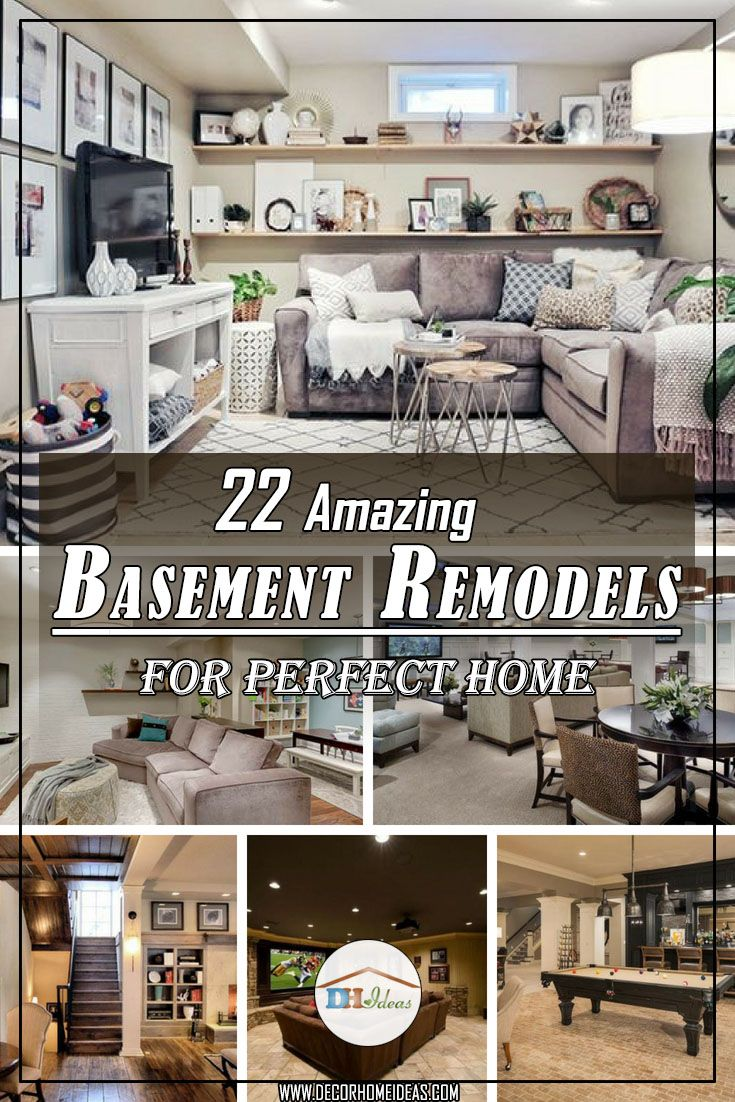 amazing basement remodels to make your home perfect home decor