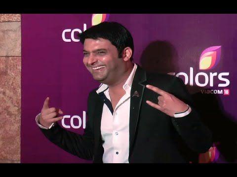 Kapil Sharma at Colors Leadership Awards 2015.