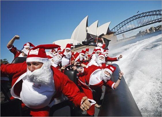 Christmas in Sydney, Australia