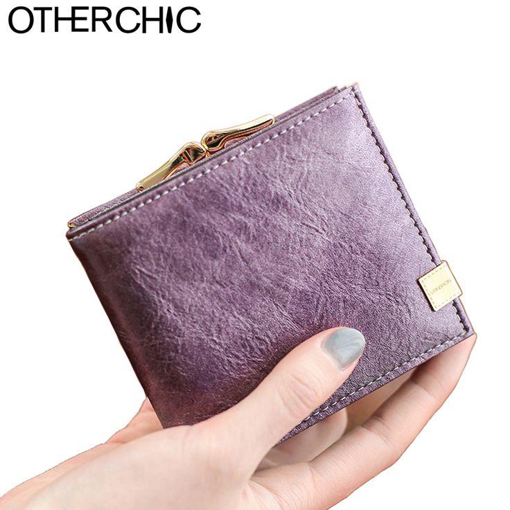 Fashion Women Short Wallets Ladies Small Wallet  Female Coin Purse Credit Card Designer Brand Wallet Purses Money Bag 6N04-02
