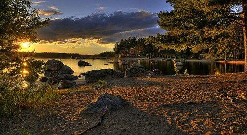 Sandsnäsbadet Hedesunda, Sweden