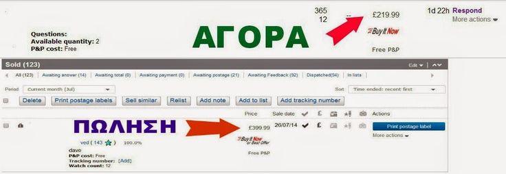 D.s.Domination-eBay-Amazon: ΟΤΑΝ ΒΓΑΖΕΙΣ 151 ΕΥΡΩ ΑΠΟ ΜΙΑ ΠΩΛΗΣΗ,ΤΟ ΣΑΒΒΑΤΟΚΥΡ...