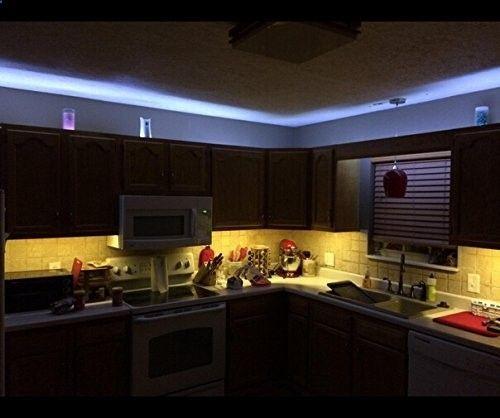 Amazon.com : Bonlux 5M/16.4 Ft Waterproof RGB LED Strip Light Kit With 300  LEDs Flexible Strip Light + 44 Key RGB Controller + 12V AC Power Adapteru2026