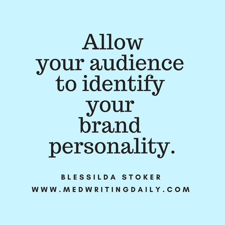 Building an effective brand requires authenticity and clarity. Allow your audience to identify your brand personality.  #healthcare #medical #marketing #branding