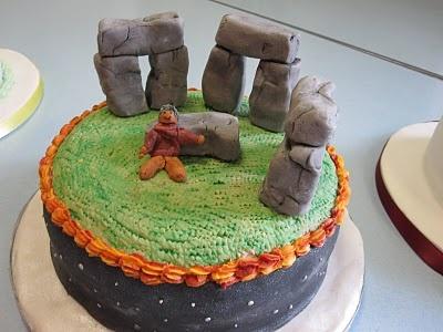 Stonehenge cake recipe