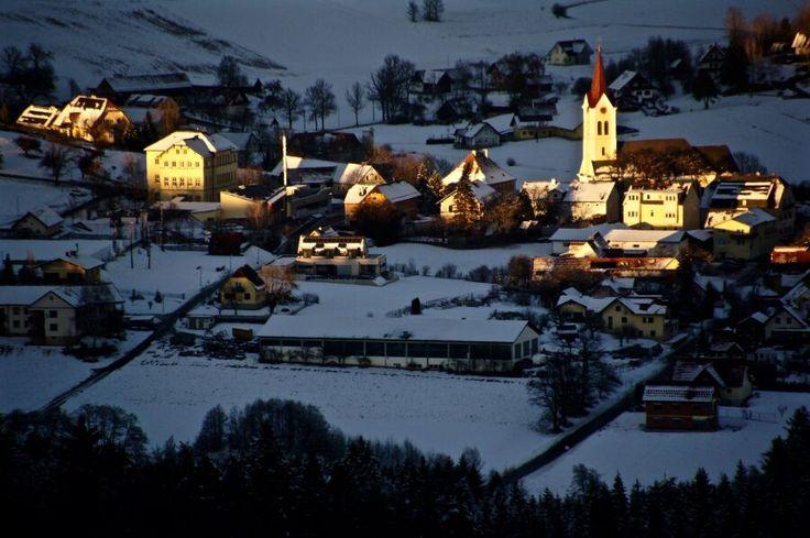 Bild aus dem Jahr 2017 aus der Region Sausal im Schnee, Österreich