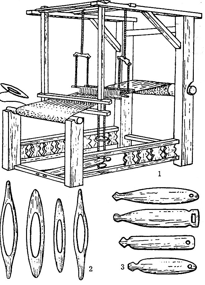 russian loom diagram