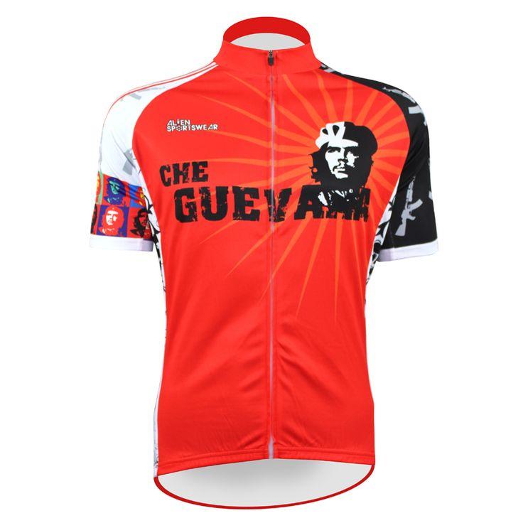 Красный пионеры че гевара чужой спортивная одежда мужские езда на велосипеде джерси езда на велосипеде одежда велосипед рубашка размер 2XS к 5XL