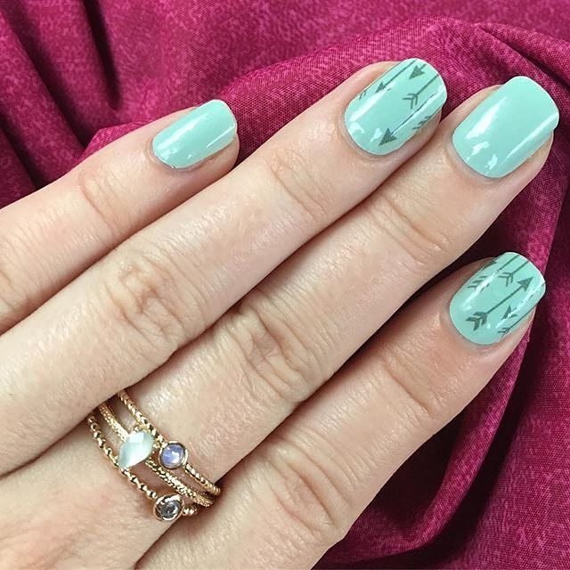 45 best incoco walmart images on pinterest walmart walmart mint green right this way arrow nail art is just perfect for spring find them at your local store prinsesfo Gallery