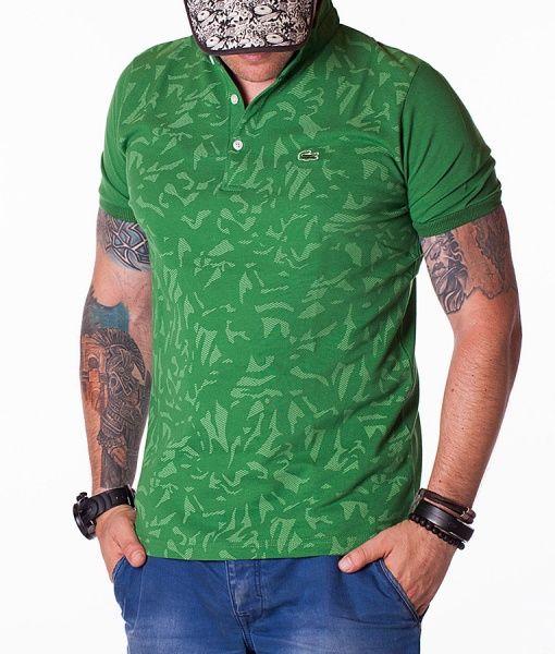 Lacoste Tricouri Polo - Classic tricou polo verde