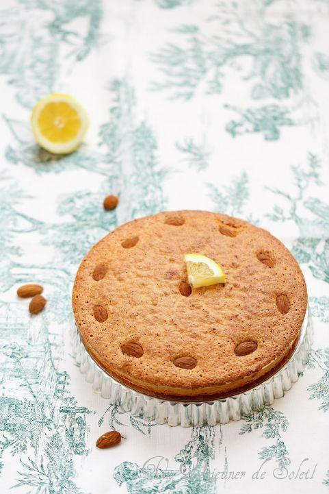 Gâteau aux amandes et au citron (sans beurre et sans gluten)