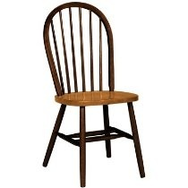 Spindleback Windsor Dining Chair in Cinnamon and Espresso