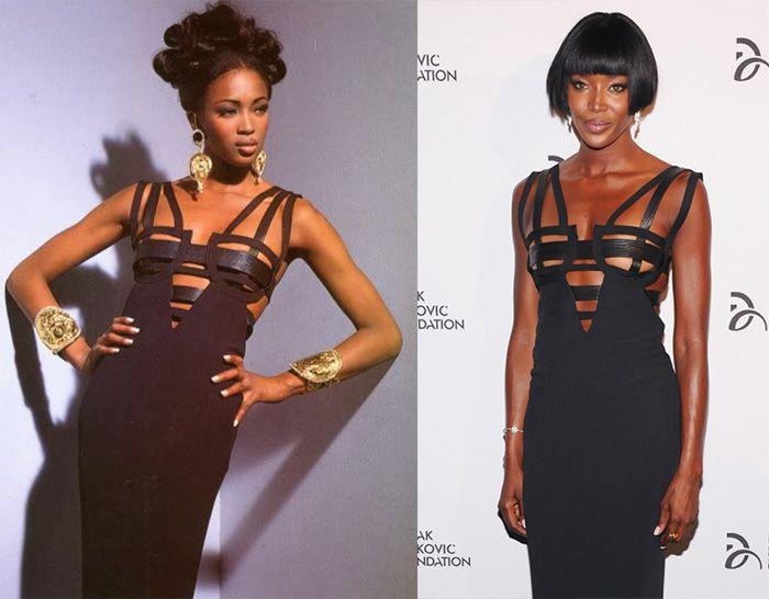 Образ дня: Наоми Кэмпбелл в Atelier Versace F/W 1992-1993 - Мода - Look   Vogue Ukraine