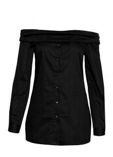 Košile Odhalenka, černá