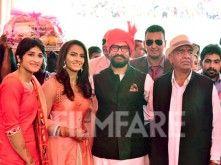 Aamir Khan attends wrestler Geeta Phogat's wedding in Haryana