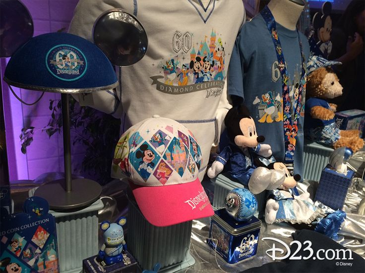 Sneak Peek At Disneyland 60th Anniversary Merchandise