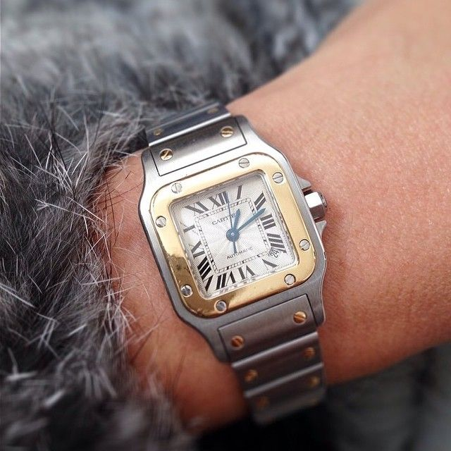 "85 Likes, 21 Comments - Official Cartier Santos (@cartiersantos) on Instagram: ""Cartier Santos Galbee 