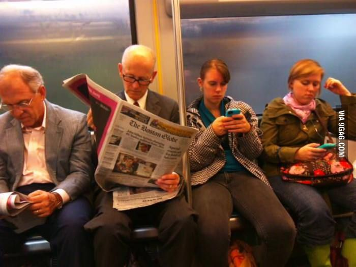 generation gap between young and old A study has found that technological advances and changing perspectives on  social values have created the biggest generation gap between.