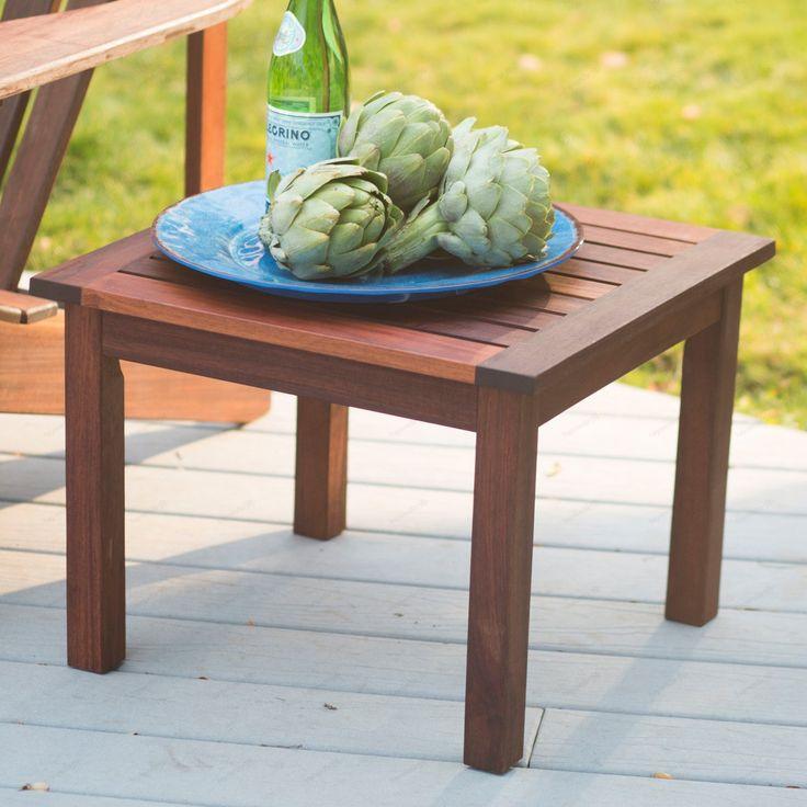 Outdoor Belham Living Richmond Deluxe Side Table | Outdoor ... on Belham Living Richmond Bench id=93000