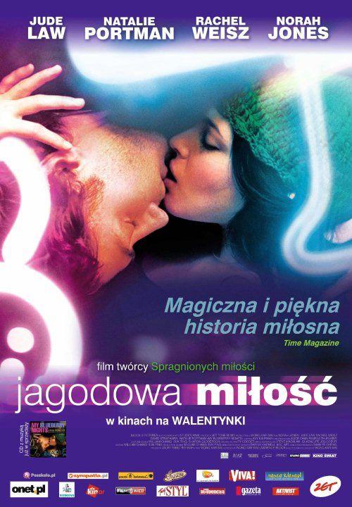 Jagodowa miłość (2007) Zdradzona kobieta wyrusza autostradą numer 66 na poszukiwanie prawdziwej miłości. Podróż, w której spotyka wielu inspirujących ludzi, rozpoczyna się od rozmowy z właścicielem kawiarni przy kawałku jagodowego placka.