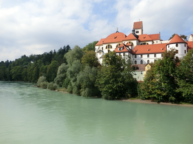 The #Lech river in Füssen, Germany.