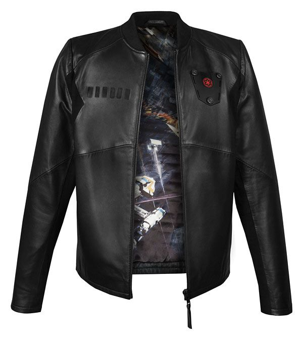 "Star Wars Imperial ""TIE Pilot"" Leather Jacket"