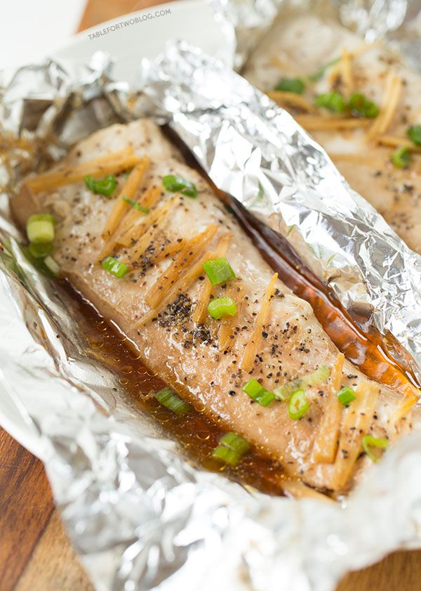 Ginger soy sesame fish in a pouch recipe sushi sauces for Ginger fish recipe