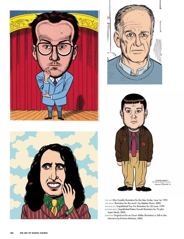 The Art of Daniel Clowes p.2Cartoonist, Graphics Novels, Book Title, Clow P 2, Coverage, Daniel Clow, Clow P2, Author Interview, Alvin Buenaventura