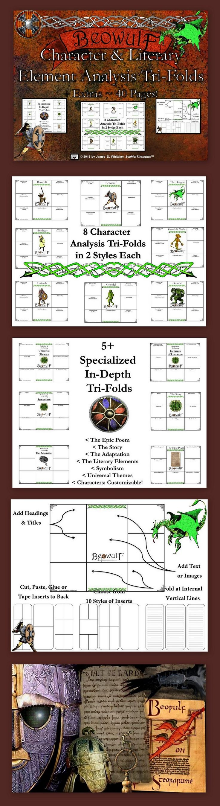 156 best beowulf lesson plans and activities for success images on