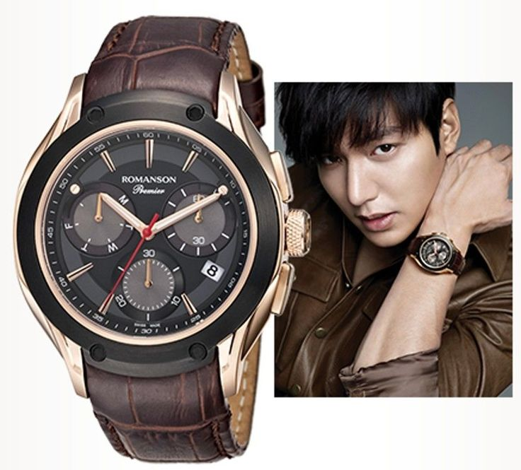 ROMANSON cf mode Lee Min-ho 李敏鎬 Лі Мін Хо PREMIER sporty activity PL4221HM1KA36R