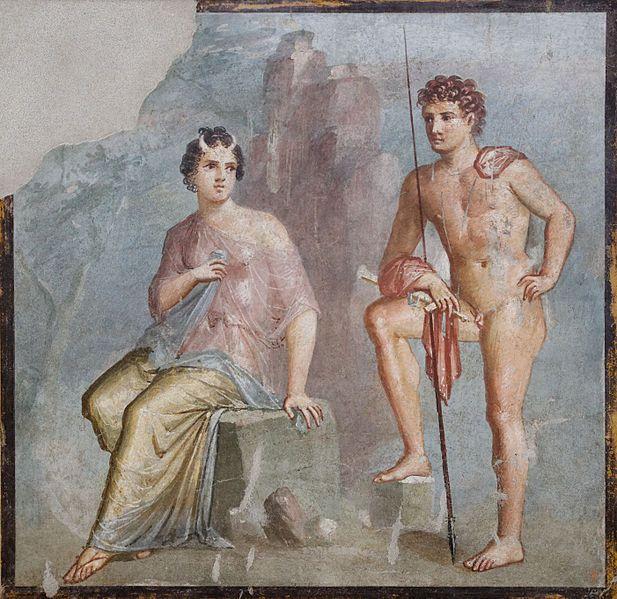Io and Argo. Ancient Roman fresco (45-79 BCE)  Art Experience NYC  www.artexperiencenyc.com/social_login/?utm_source=pinterest_medium=pins_content=pinterest_pins_campaign=pinterest_initial
