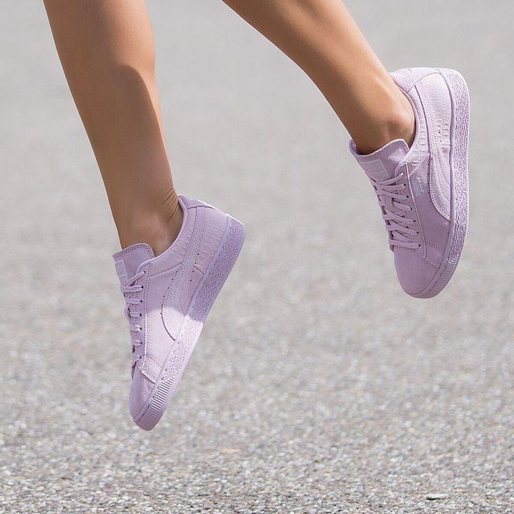 puma sneaker lila