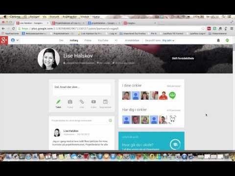 Se. hvordan du kommer godt i gang med Google+